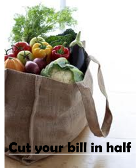 cut your bill in half