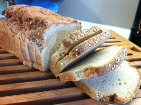 organic works quinoa maple bread