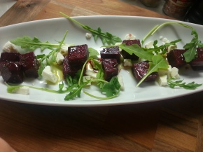 beet salad deconstructed